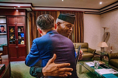 Osinbajo Hosts Foreign Investors in Aso Rock