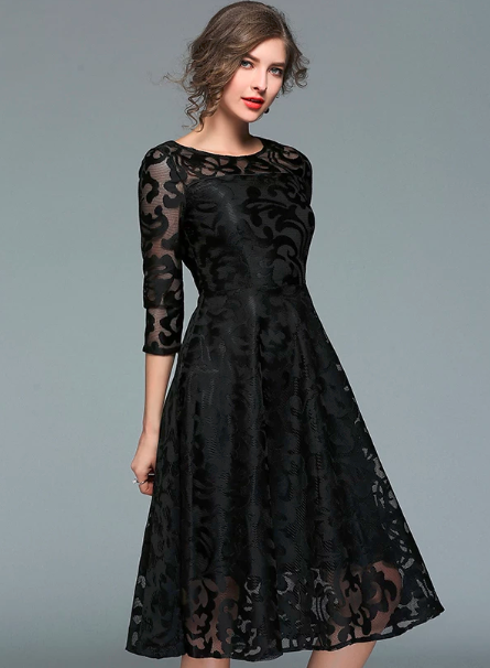 Fashion Lace Dresses