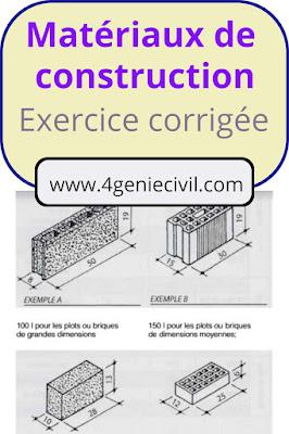 td avec solution de matériaux de construction