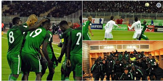 How Super Eagles Were Held to 1-1 Draw by Algeria After a Controversial Penalty in Constantine (Photos)