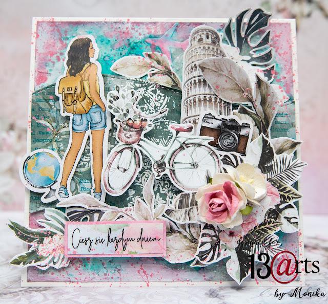 Kartki urodzinowe z kolekcji Bella