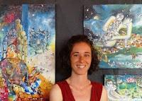 Annapia Sogliani peintre ceramiste painter ceramic artist pittrice artista www.latelierdannapia.art