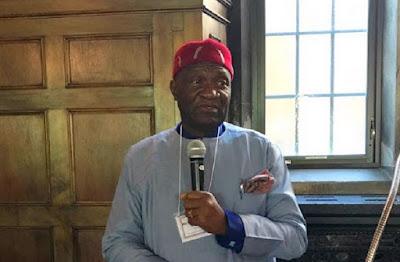 President of Ohanaeze Ndi-Igbo, Chief John Nnia Nwodo