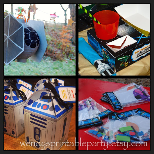 Dillon's Jedi Forest Training Camp - Star Wars Themed Party