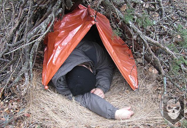 shelter darurat saat tersesat