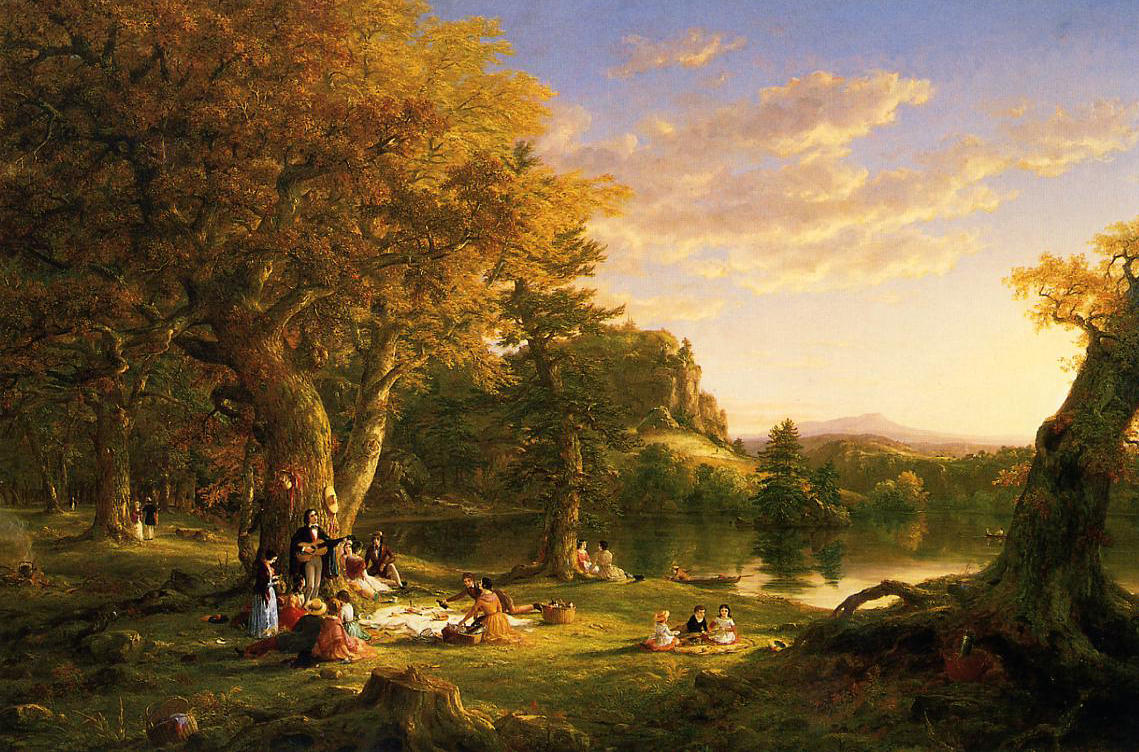 19th century American Paintings: Thomas Cole