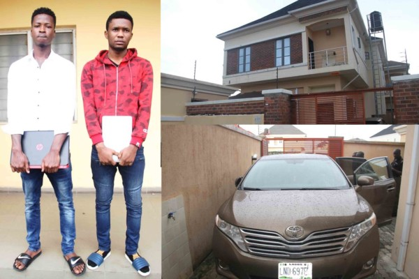 EFCC-arrests-four-dropouts-for million-dollar-internet-scam