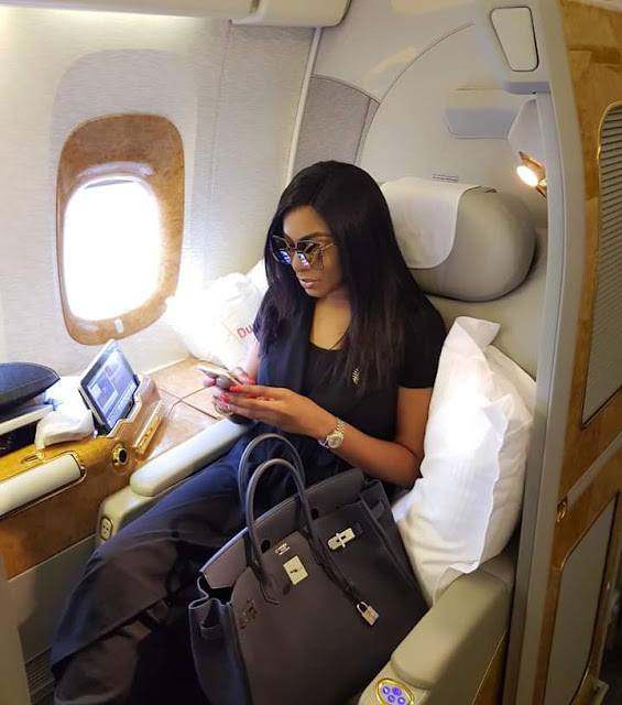 Photos: Chika Ike arrives Harvard to complete her course