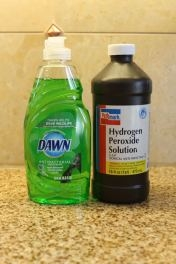 Diy Fan Dawn Dish Soap And Hydrogen Peroxide Stain Remover