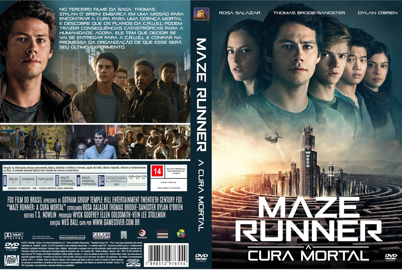 download online Maze Runner A Cura Mortal 2018 Torrent Dublado 720p 1080p completo full