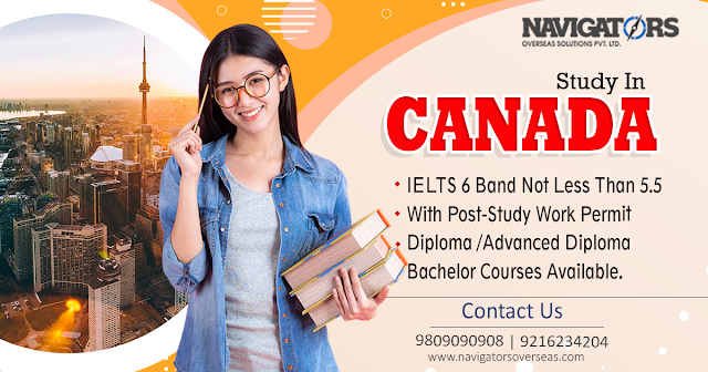 Canada Study Visa Consultants in Chandigarh Pathankot, Amritsar, Mohali, Punjab and Haryana