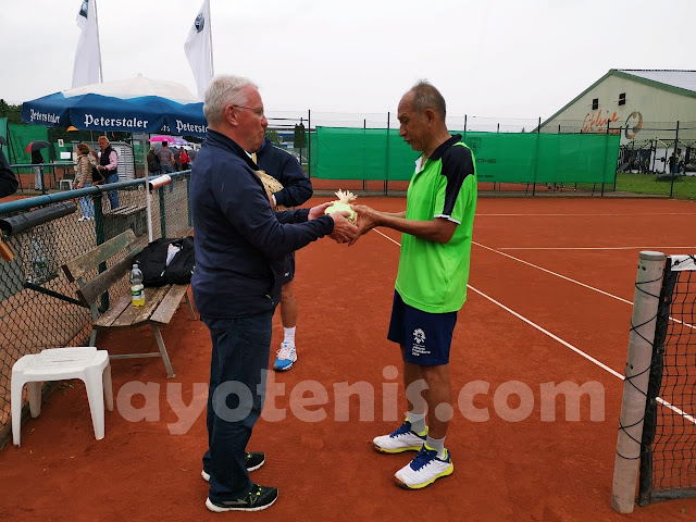 Taklukkan Unggulan Pertama, Yustedjo Tarik Sabet Gelar Juara ITF grade 2 di Ottersweier, Jerman