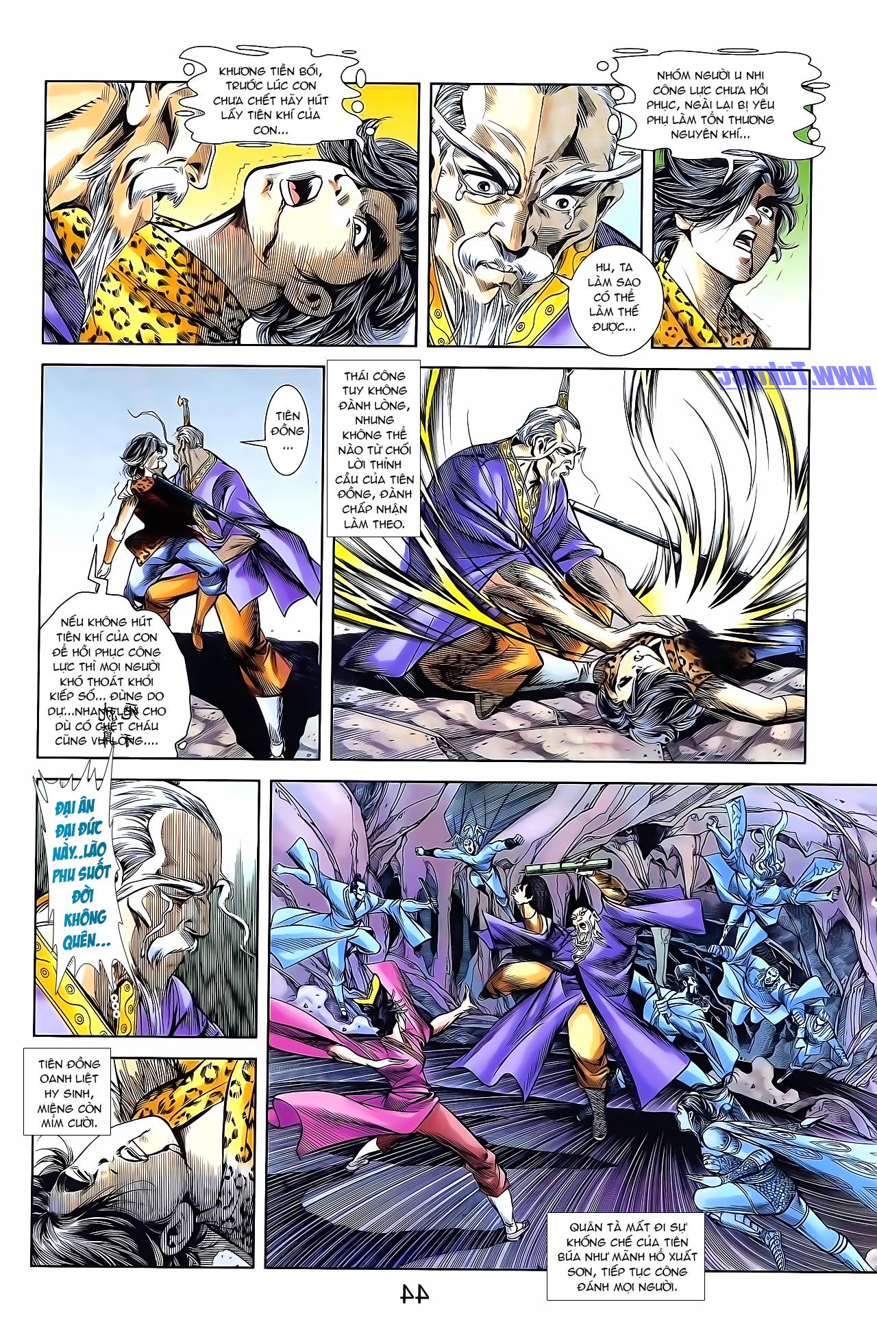 Cơ Phát Khai Chu Bản chapter 162 trang 22