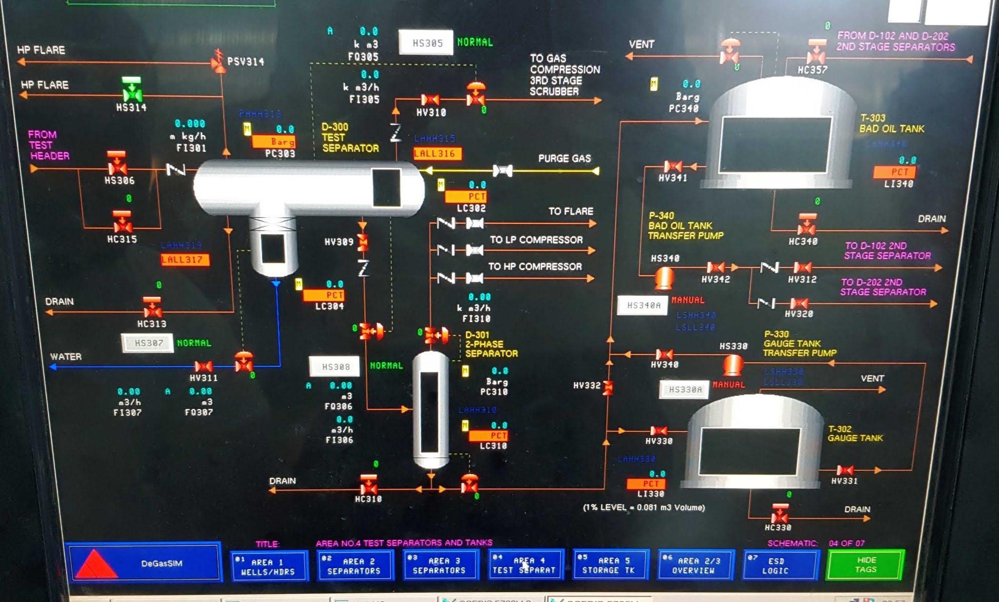 عزل الغاز عن النفط | Degassing Unit