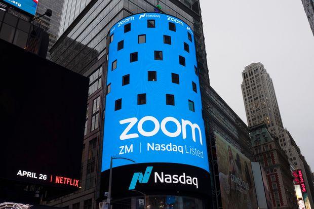 Las acciones de Zoom Video sufrirán la mayor caída semanal de la historia