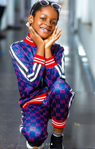 You are my angel in human body- Uche Ogbodo showers sweet words on her daughter as she clocks 7 years old (Photos)