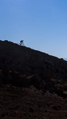 Adventure Mountain Bike Wallpaper