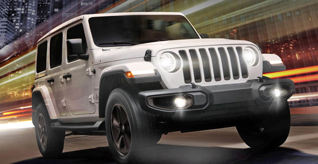 Photos-The new Jeep Wrangler Night Eagle 2019 ...