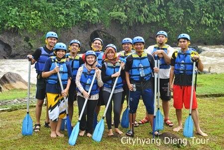 Paket Rafting Dan Tour Dieng
