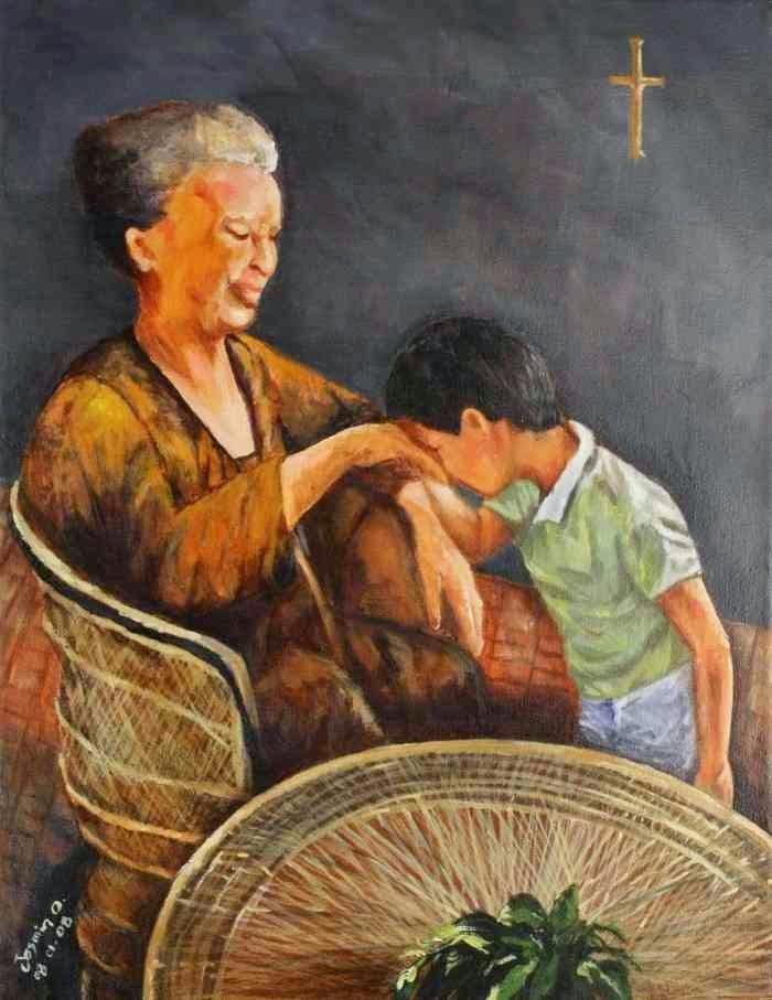Филиппинская художница. Jasmin Alberto Orosa
