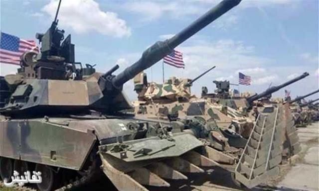معدات أمريكية عسكرية تقترب من الوصول إلى الحدود مع روسيا وغضب روسي