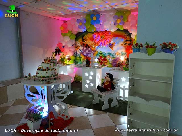 Decoração tema Jardim Encantado - Aniversário infantil