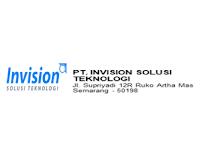 Lowongan Kerja Bulan November 2019 di PT. Invision Solusi Teknologi - Semarang