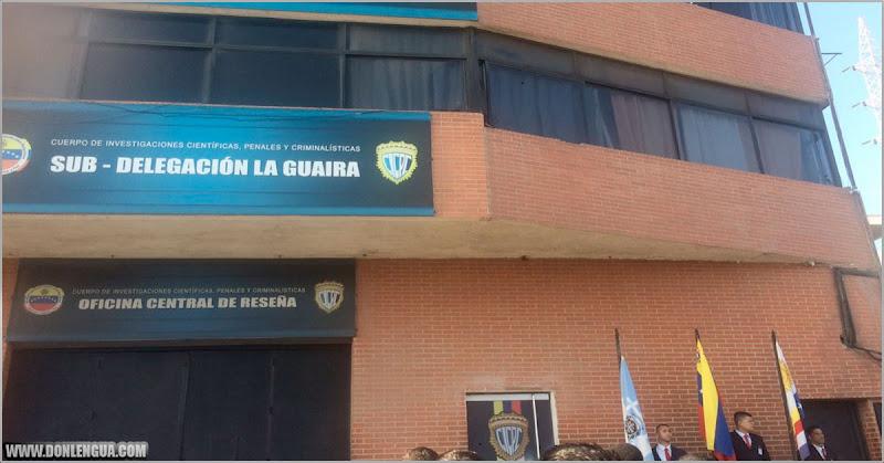 Delincuente se lanzó del tercer piso del CICPC de La Guaira