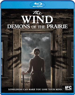 The Wind: Demons of the Prairie Blu-ray Cover