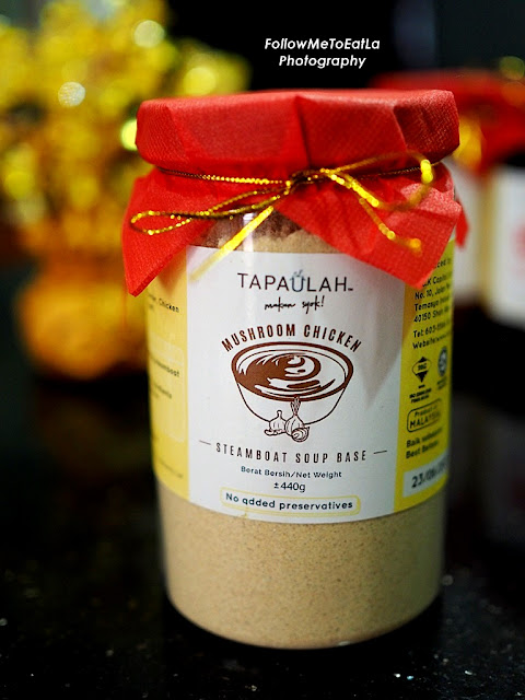 TAPAULAH STEAMBOAT PASTE MUSHROOM CHICKEN