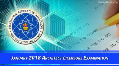 Architect January 2018 Board Exam