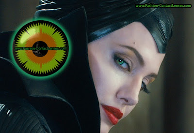 Maleficent Halloween Contacts