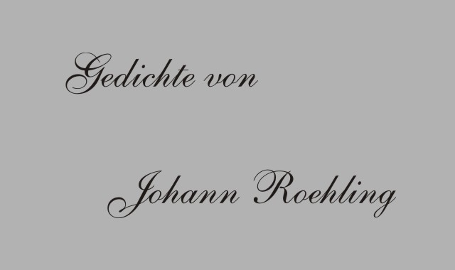 Johann Roeling- deutscher Schriftsteller