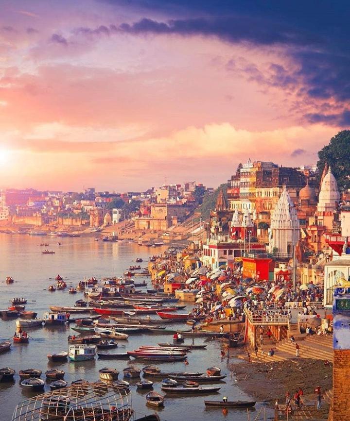 Varanasi Ghats Images, Ganga Maa Images - BaBa
