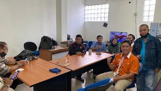 Mochamad Anwar, Humas Baru IPC Tanjung Priok Kunjungi  Press Room