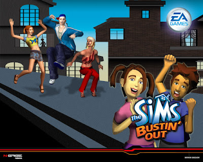 Sims The Bustin Out PPSSPP ISO for Android