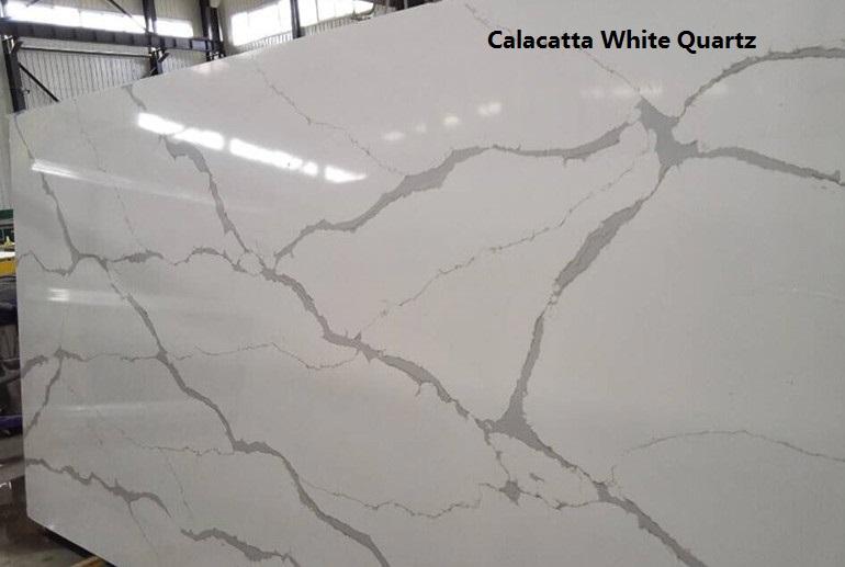 Leeston Calacatta White Quartz