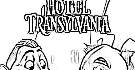 Juegos De Hotel Transylvania Para Colorear Imprimir Y Pintar