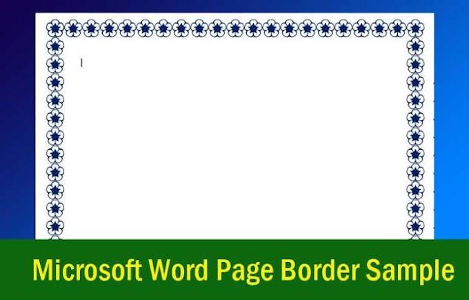 Cara Membuat Bingkai / Page Border di Microsoft Word 2016