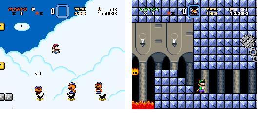 Super Mario World 3 El Hack ROM Innovador Super%2BMario%2BWorld%2B3%2Bv1.0%2Bcollage%2B3