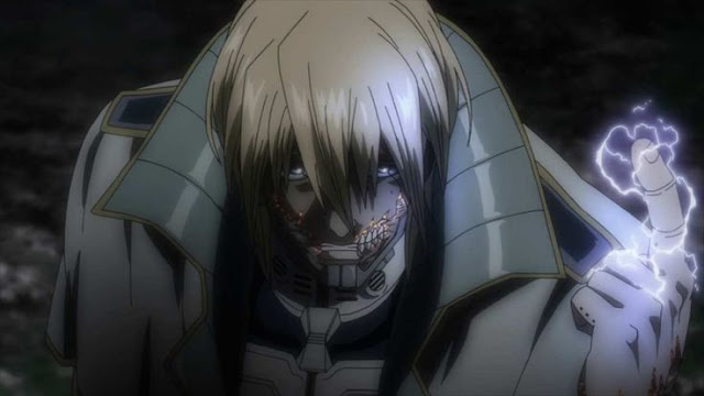 Adolf Terraformars Anime Characters With Lightning Badass Abilities