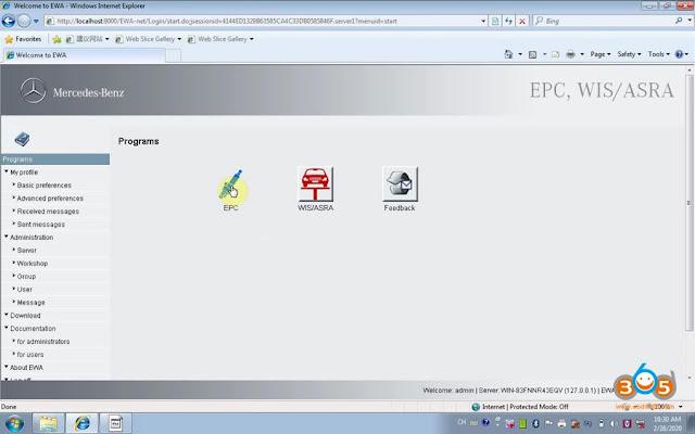 activate-vxdiag-benz-EPC-Wis-8