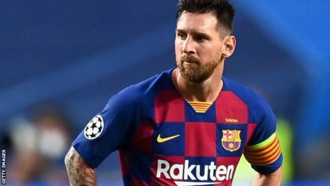 Barca's legal adviser fired for helping Messi hand in transfer request