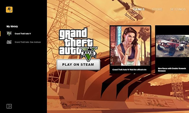 Rockstar Games Launcher Out Now : GTA San Andreas Now Free