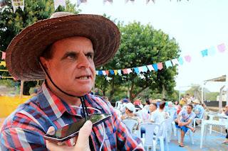 Festa Junina do Centro Pop reúne mais de 100 pessoas
