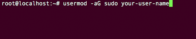 add sudo privileges