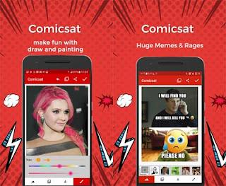 aplikasi android pembuat komik