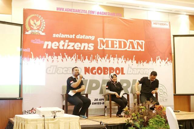 Ngobrol Bareng MPR RI di Medan; Gerakan Sosialisasi 4 Pilar Kebangsaan