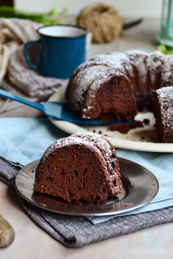BUNDT CAKE DE CHOCOLATE INTENSO