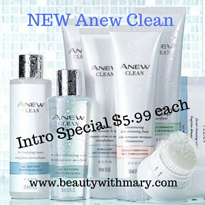 Avon Anew Clean Cleansers